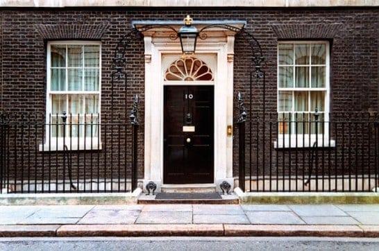 numero 10 di downing street a Londra