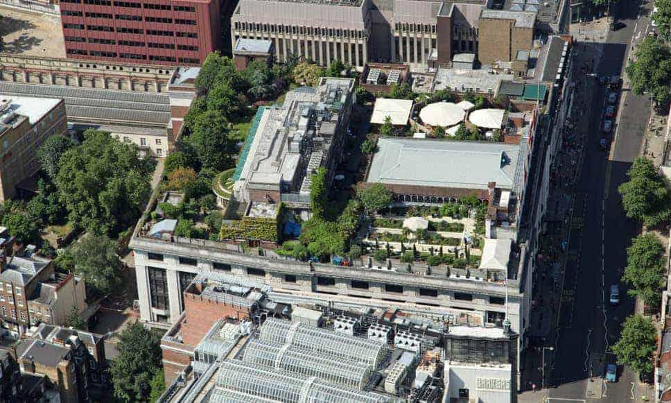 londra giardino tetto