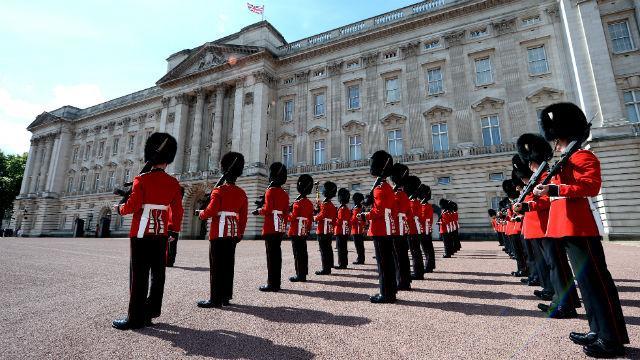 weekend a Londra cambio della guardia
