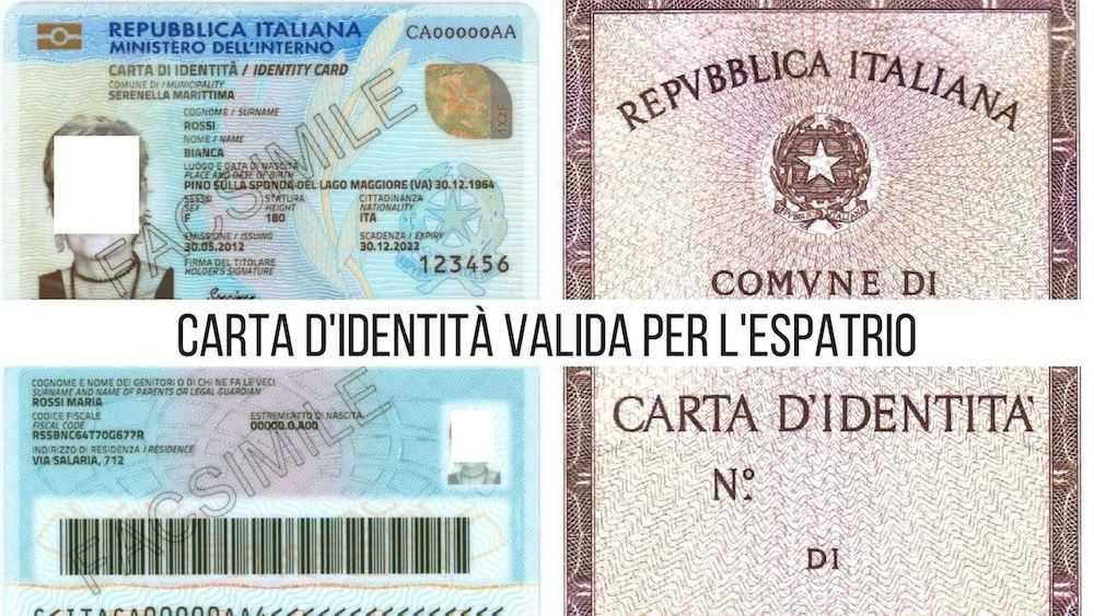 carta identità londra