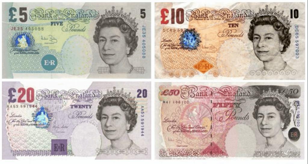 soldi inglesi