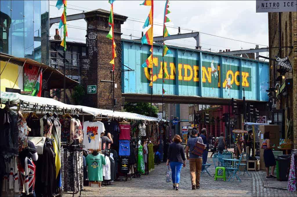 mercati di londra camden town