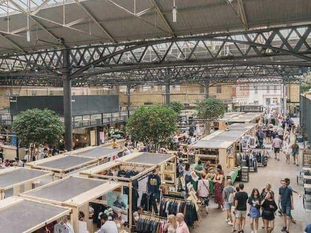 mercatini londra old Spitalfields