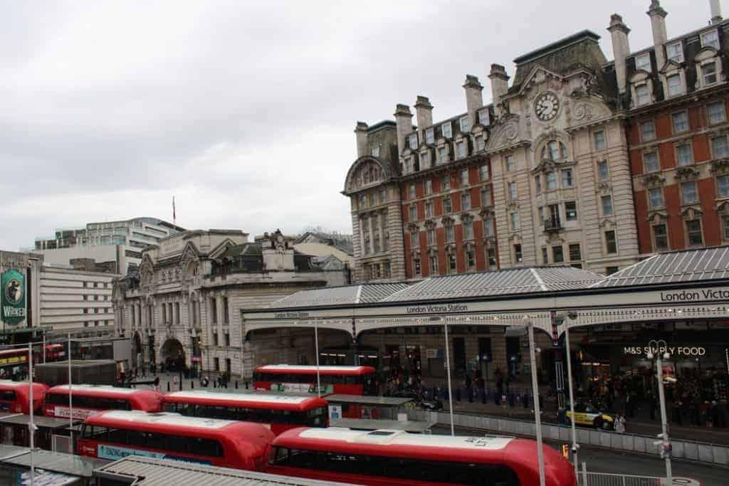 Victoria Station londra