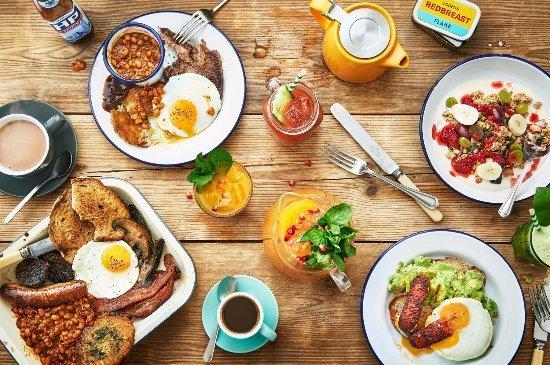 colazione a londra