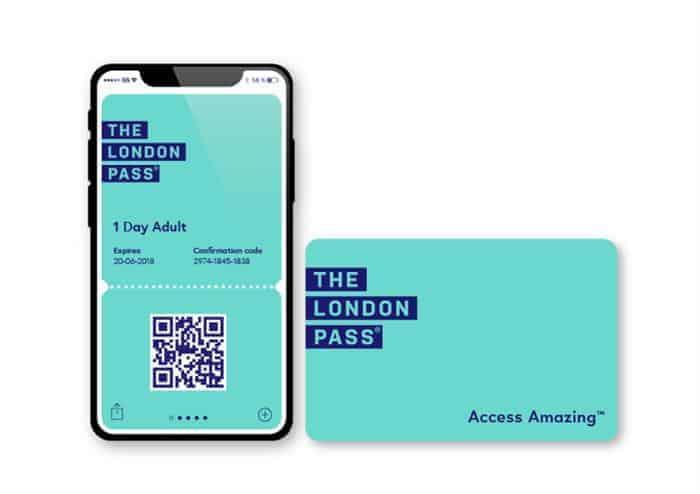 london pass digitale sullo smartphone