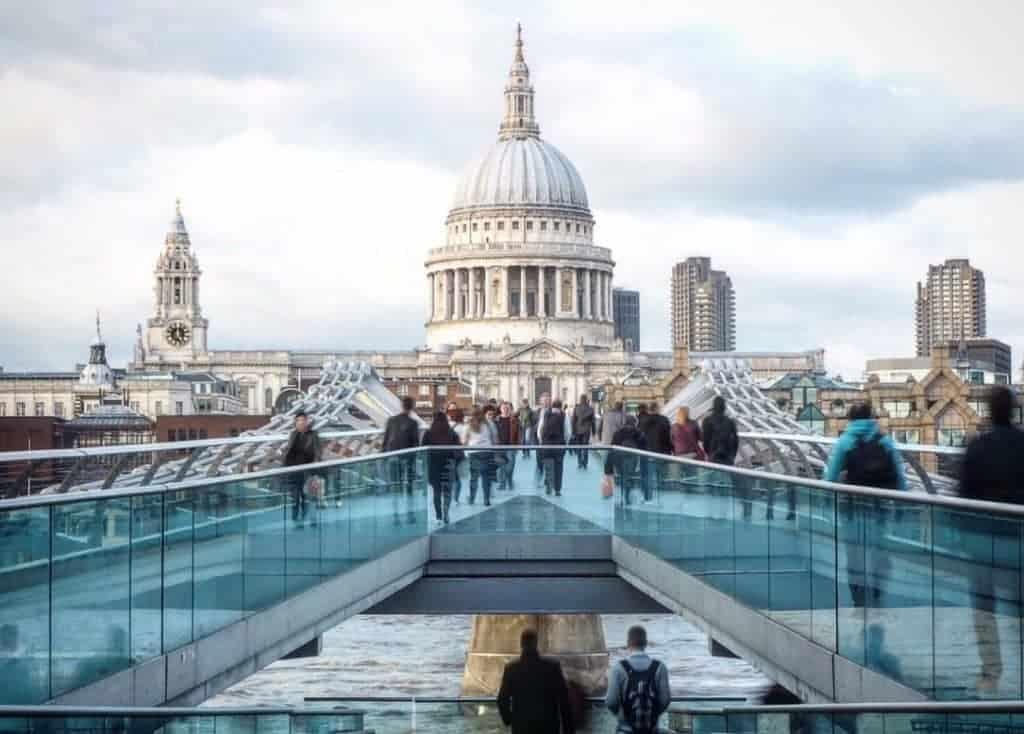 weekend a Londra  millenium bridge