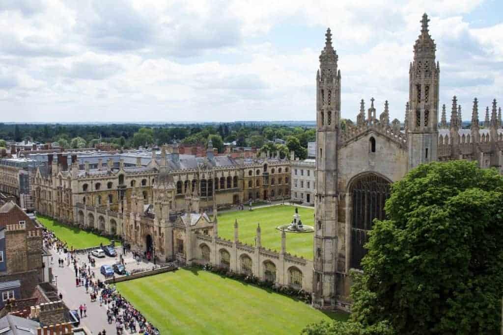 studiare in Inghilterra a Cambridge