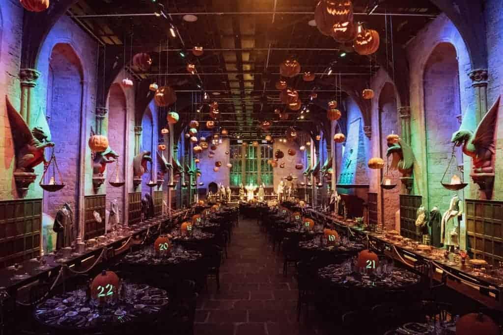 Halloween a Londra presso gli Harry Potter Studios