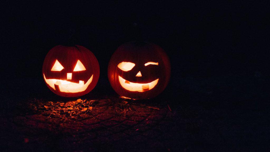 halloween zucca festa a casa