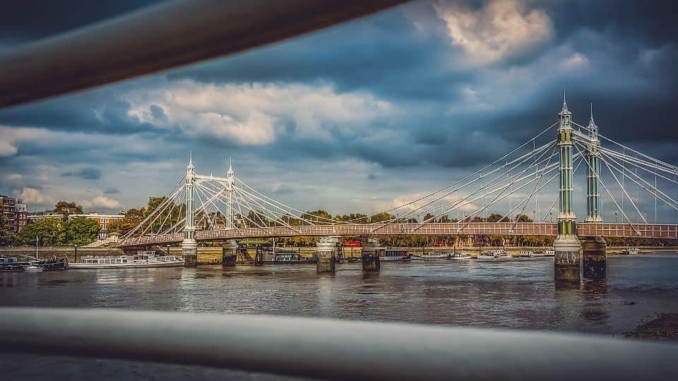 Albert Bridge a Londra