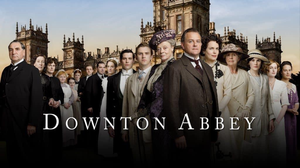 downton abbey serie tv in inglese