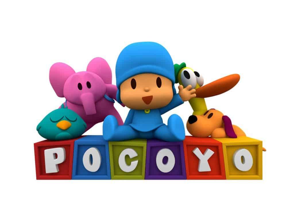 Pocoyó cartoni in inglese