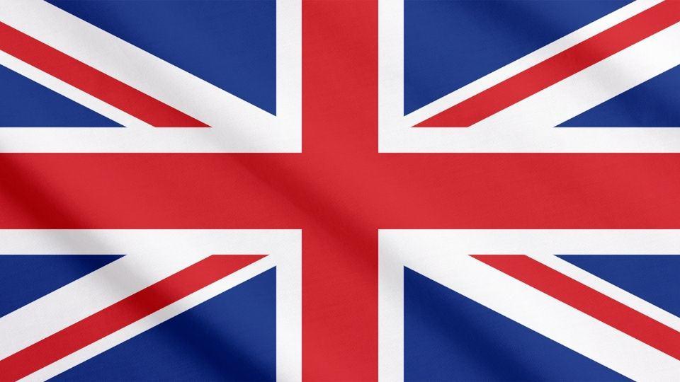 La bandiera del Regno Unito - La Union Jack 2
