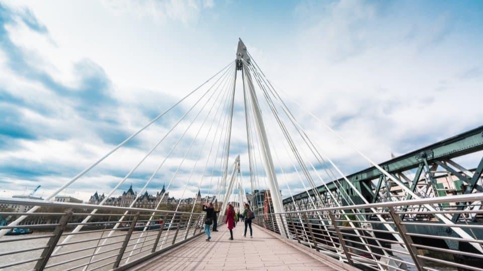Golden Jubilee Bridges London