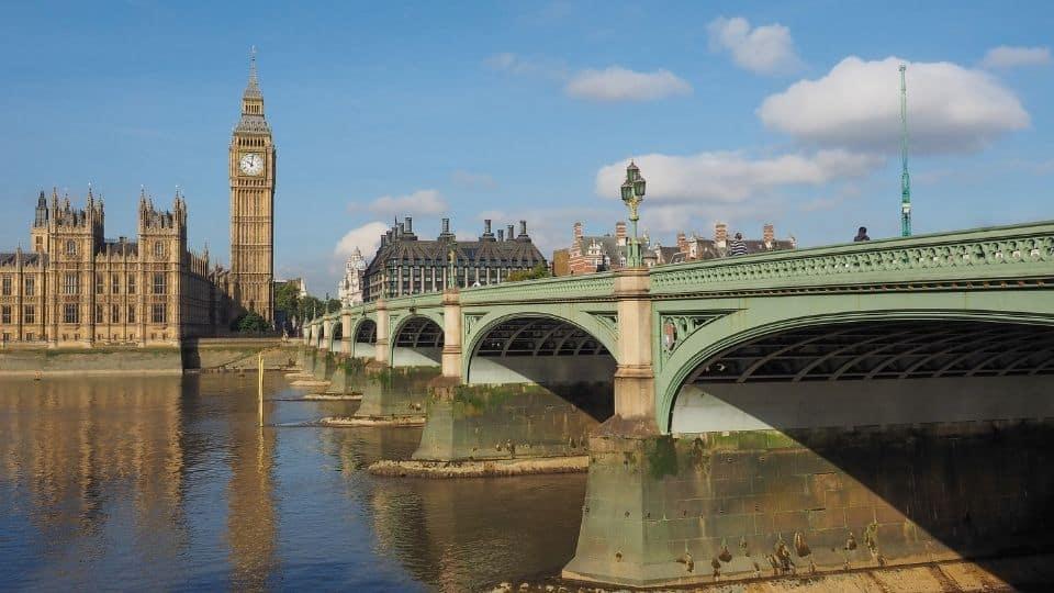 Westminster Bridge ponte di Londra